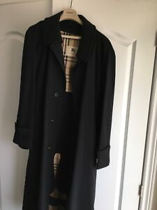 Burberry fall coat with liner