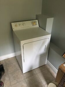 White GE Clothes Dryer For Sale