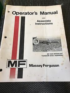 Massey Ferguson manuals and brochures