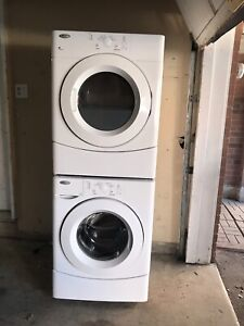 """Can deliver/27"""" NEW condition 27""""w washer Dryer"""