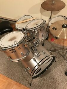 Taye six piece drum kit.