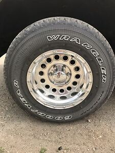 Wheels / tires. Gmc Chevrolet 6bolt