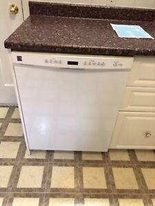 Kenmore dishwasher, fridge and microwave