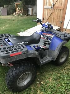 2004 Polaris Sportsman 600 Twin  4x4 with Winch and Hitch!