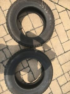 2 winter tires used half a season 125$ nego