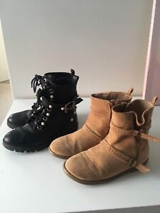 Zara and old navy boots