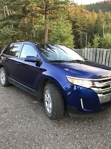 2013 FORD EDGE LOW KMS, CLEAN
