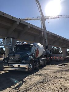 Concrete truck and contract