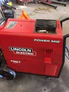 Mint condition Lincoln Power Mig