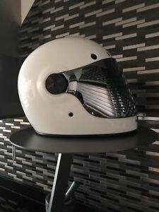 Bell Bullitt Motorcycle Helmet Solid White