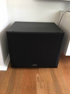 Sony passive subwoofer Prestons Liverpool Area Preview