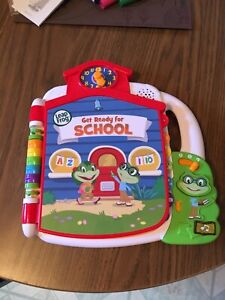 Leap Frog get ready for school book