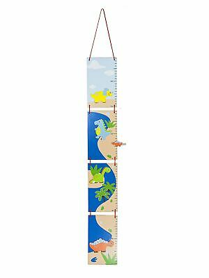 Boys Height Chart Dinosaur Design for Kids Nursery or Bedroom Decoration