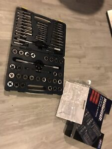Master-craft tap and die set *never used*