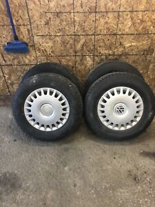 2002 Volkswagen Jetta snow tires and rims