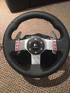 Logitech G27 SIM Racing Wheel, Pedals and Gearshift