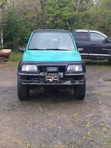 1995 geo tracker and parts car