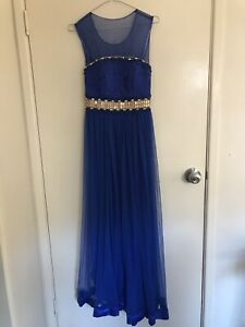Gorgeous tulle royal blue size 10 formal dress never worn Highgate Hill Brisbane South West Preview