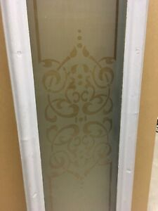 Door glass inserts - two items