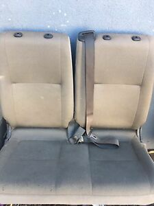 Full set of grey van seats, four in total will seperate make an offer Rokewood Golden Plains Preview
