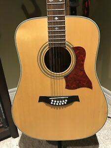 Acoustic 12 String Guitar with Fishman EQ