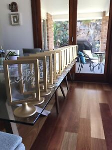 Table Numbers for Wedding or Party Arana Hills Brisbane North West Preview