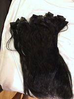 Black Tape In Hair Extensions