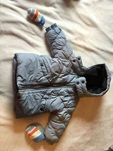 9-12M Mexx Winter Jacket & Mittens
