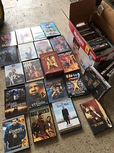 55 dvd's and blue ray