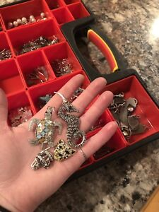 DEAL of the WEEK** Box full of unique necklace pendants
