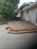 Deck and fences free quotes