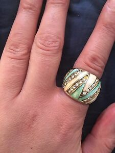 Silver ring $10