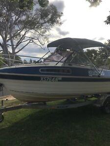 Half cabin boat ***PRICE REDUCED***