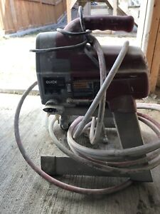 Paint sprayer and a Wet tile cutter for sale