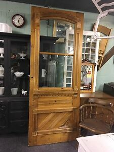 RARE SIZE ANTIQUE DOOR 89.5 x 39.5 $400