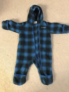 Columbia Fleece Snowsuit 6-12 months
