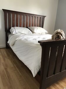 Bed frame for sale.