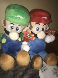Selling Plush Mario Characters