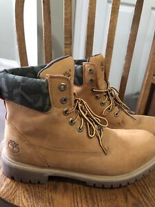 Size 10.5 Timberlands worn 3 times $100 OBO