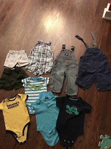 Baby boy 9 month clothes