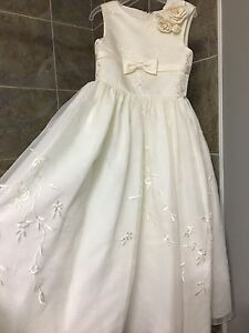 Ivory size 4 flower girl dress
