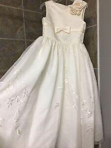 Ivory size 4 flower girl dress