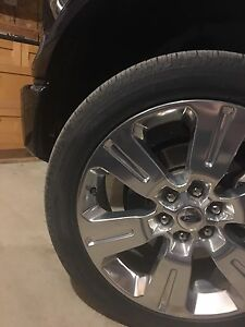 "TRADE - 22"" 2016 F-150 Limited rims and tires"