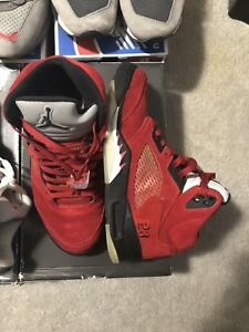 Men's Jordan raging bull 5 size 8