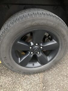 Dodge Ram OEM rims and rubber