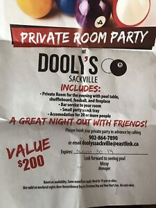 Dooly's Private Party