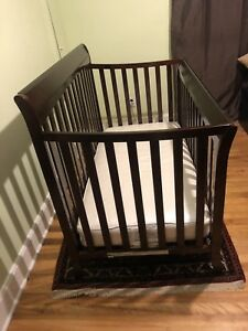 Barely used crib for sale