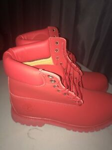 Timberland Triple Red