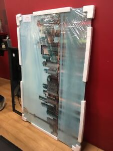 Large Glass Toronto Skyline Picture Hanging Art