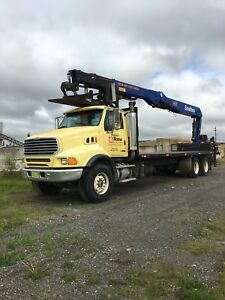 2007 Sterling with WB60 Crane